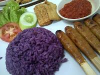 nasi ungu