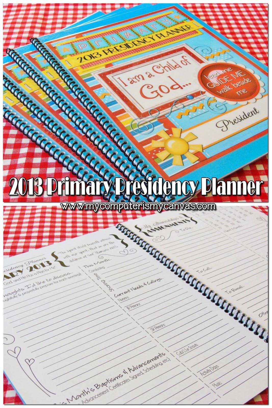 LDS 2013 planning calendar printable | just b.CAUSE