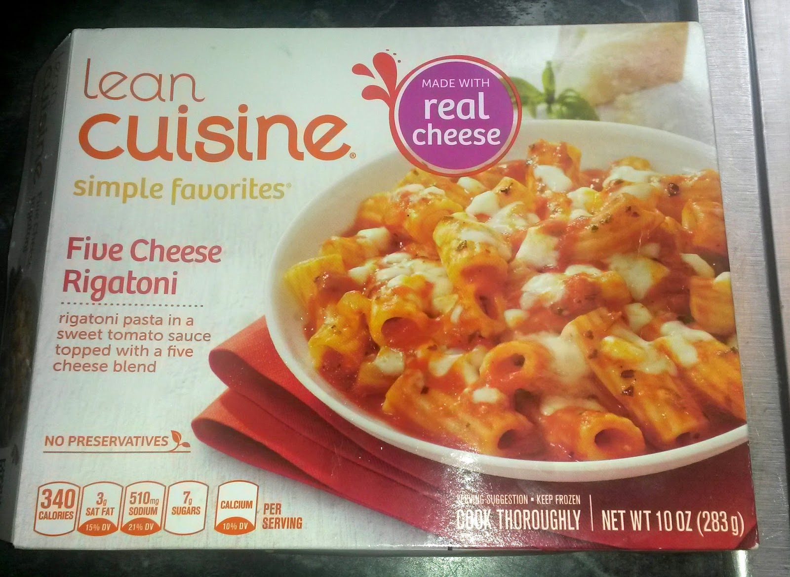 international food blog product review lean cuisine five