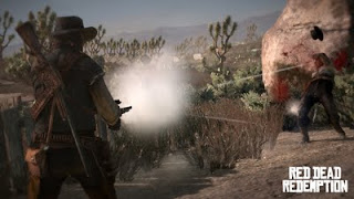 image de shoot du jeu Red Dead Redemption