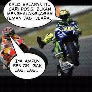 Kontroversi Moto GP 2015 Sirkuit Sepang Malaysia