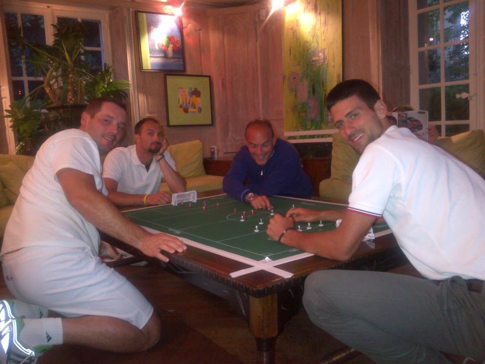 Novak Djokovic tue le temps à Roland-Garros DJOKOVIC