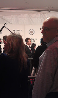 Sam Rockwell at the premiere of A Single Shot at Tribeca Film Festival
