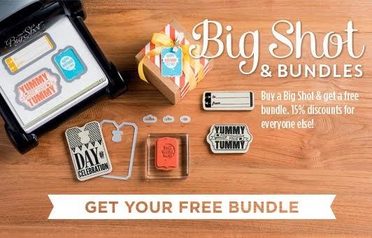 Free stamp/Framelit bundles!