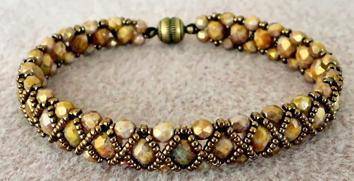Bracelet Of The Day Hugs Kisses Smoky Topaz