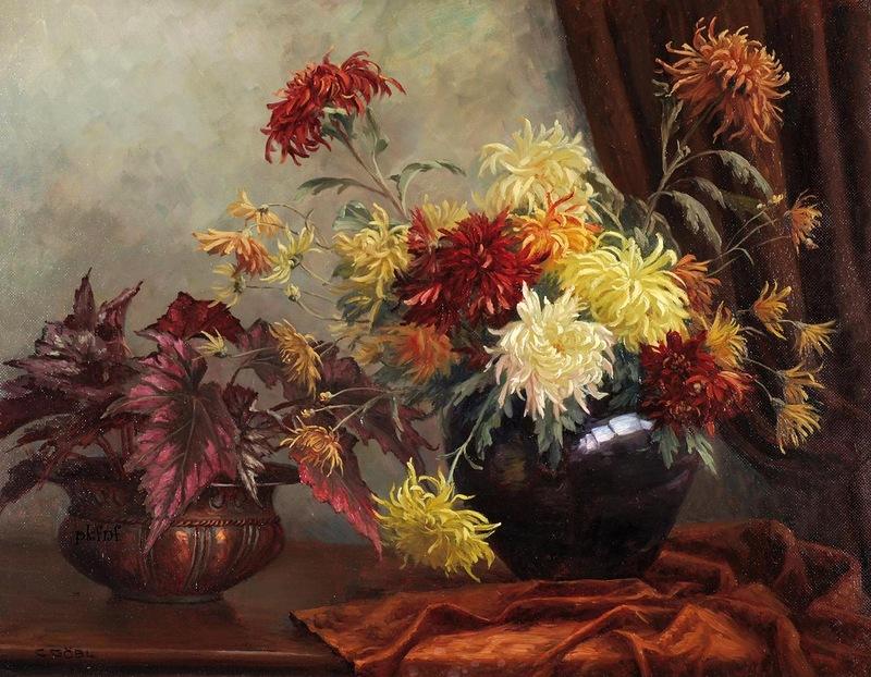 Camilla Göbl-Wahl | Austrian Still Life painter