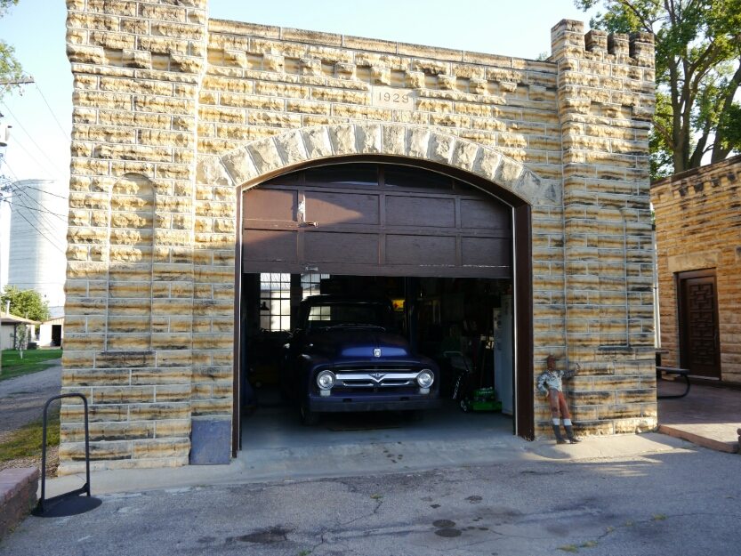 the castle garage