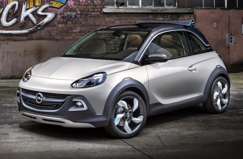 Opel Adam Rocks Concept Interior And Exterior Pictures Wallpapers