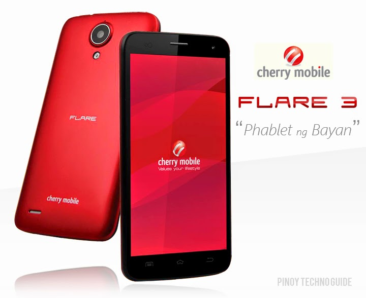 Cherry Mobile Flare 3 '5-Inch Quad Core Android Kitkat Phone for ₱3,999' Full Specs and Features