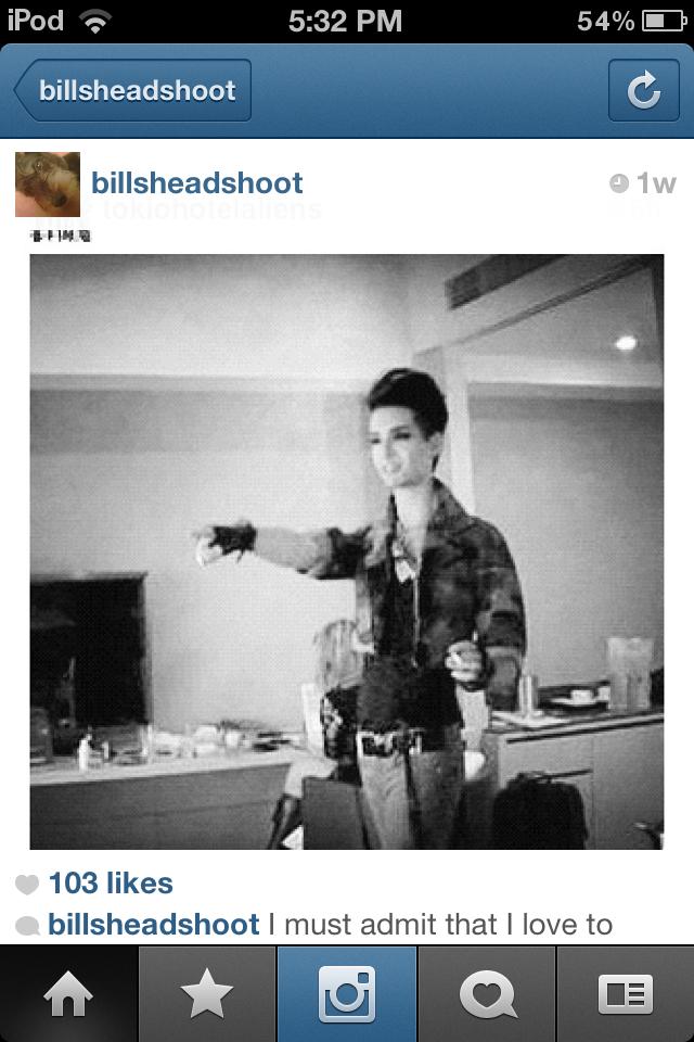 Fakes Bill and Tom Kaulitz