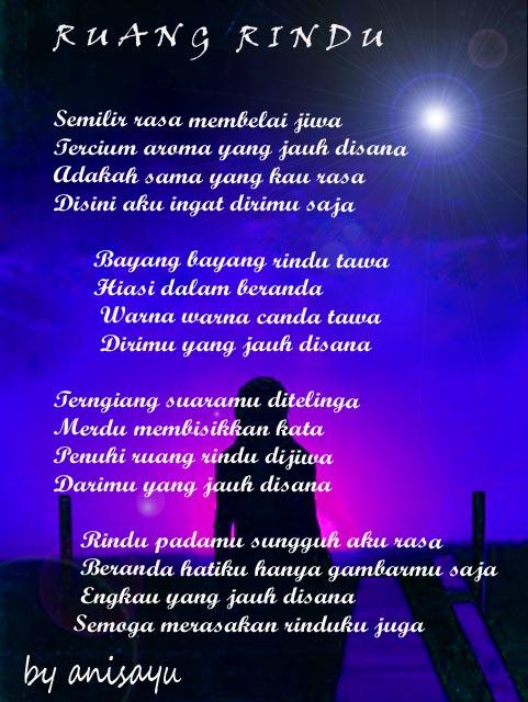 Kumpulan Puisi Cinta Romantis Rindu Asmara