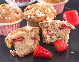 Strawberry Muffin  from Something Sweet: Winnie's Blog