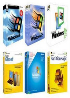 MultiWIN Win XP + WIn 98+ Win 95 + Win ME + Norton