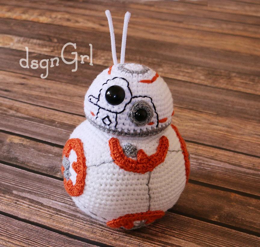 Free Star Wars Bb 8 Crochet Pattern : Photography and Art by Jennifer Nolan - dsgnGrl: Huge ...