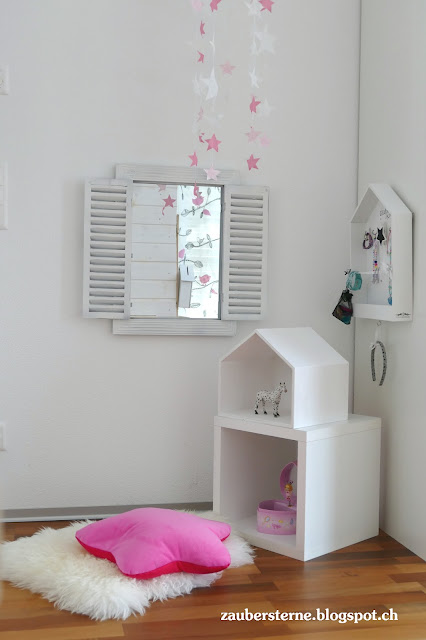 Kids Inspiration, Sternen Mobile, Shabby Fensterspiegel