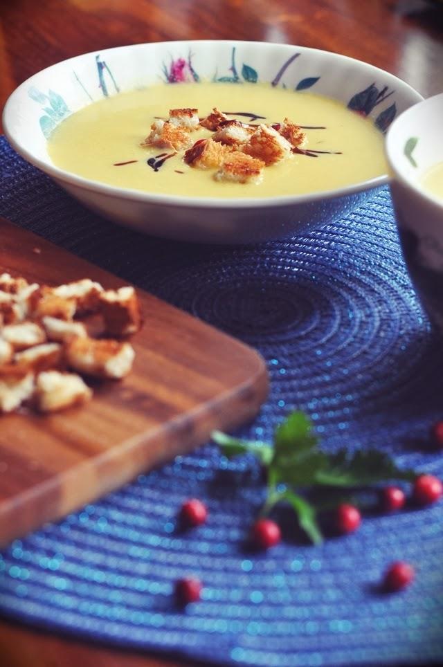 Ķirbju krēmzupa // Pumpkin Creme Soup