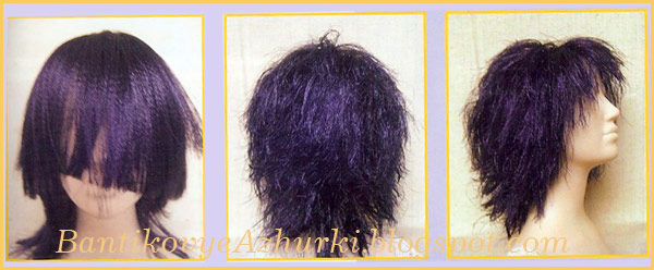 волосы для куклы из ленты