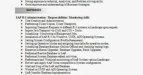 sample resume for consultant sample resume sap fresher sample sap carpinteria rural friedrich