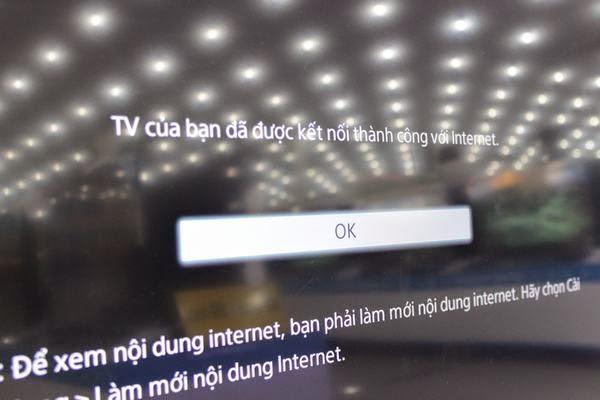 Hướng dẫn kết nối mạng cho Tivi Sony qua wifi 9