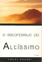 "Livro ""O Esconderijo do Altíssimo""  -  Pr.Carlos Barabás"