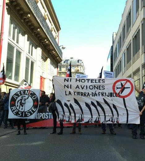 Luchas en Francia y Reino Unido, hermanadas con Atenco contra proyectos aeroportuarios