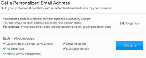 adresse électronique de l'entreprise