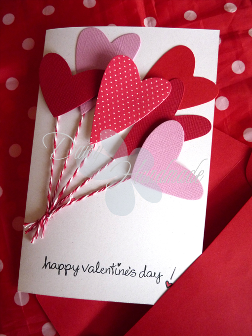 spesso Daisy Handmade: Biglietto d'auguri per San Valentino BF05