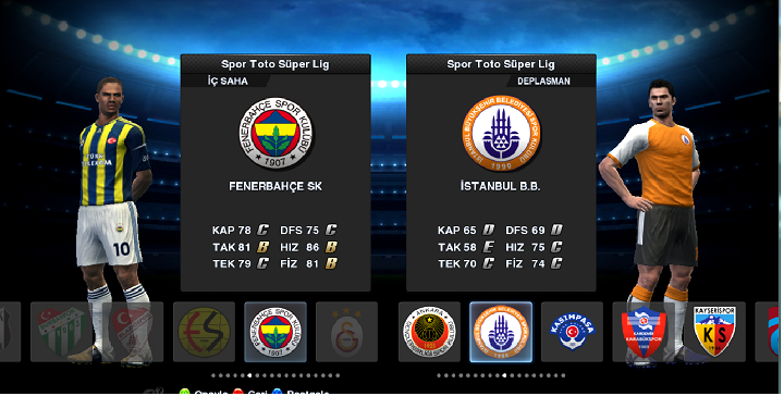 Pes 2013 Spor Toto Süper Lig Yaması İndir