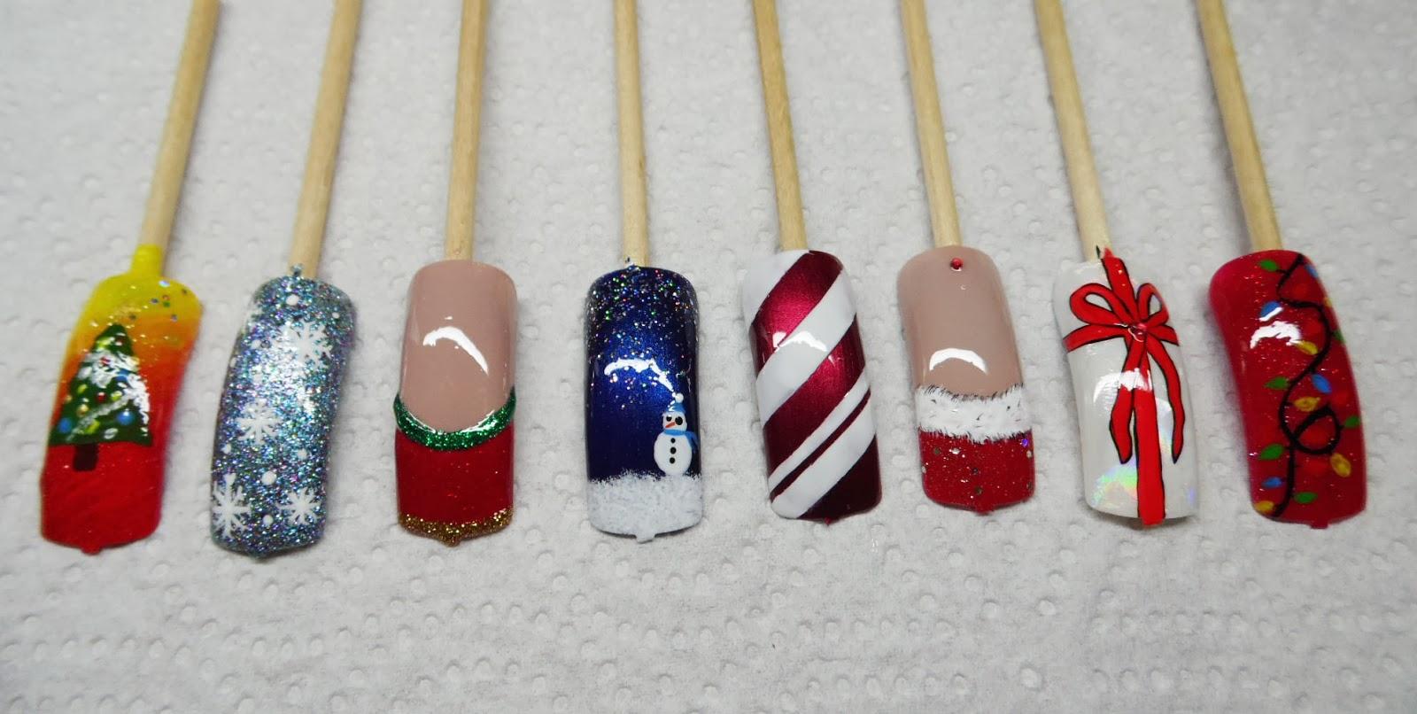 Ateliers nail art Décembre et Janvier9