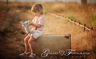 fotografia infantil en el campo