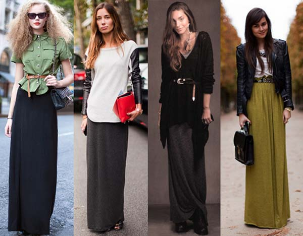 fashion trendy long skirt