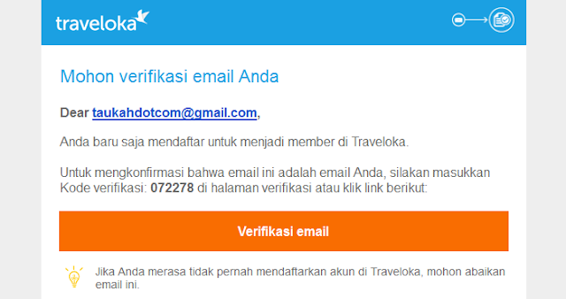 Mudahnya 150.000 perhari dari Traveloka