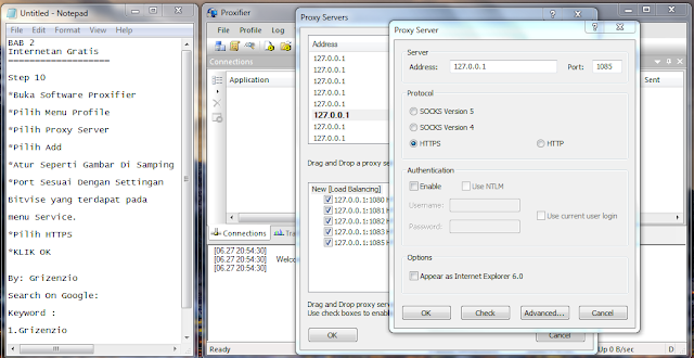 2013 06 27 210201 Cara Setting Dan Menggunakan SSH , Proxifier, Bitvise By Grizenzio