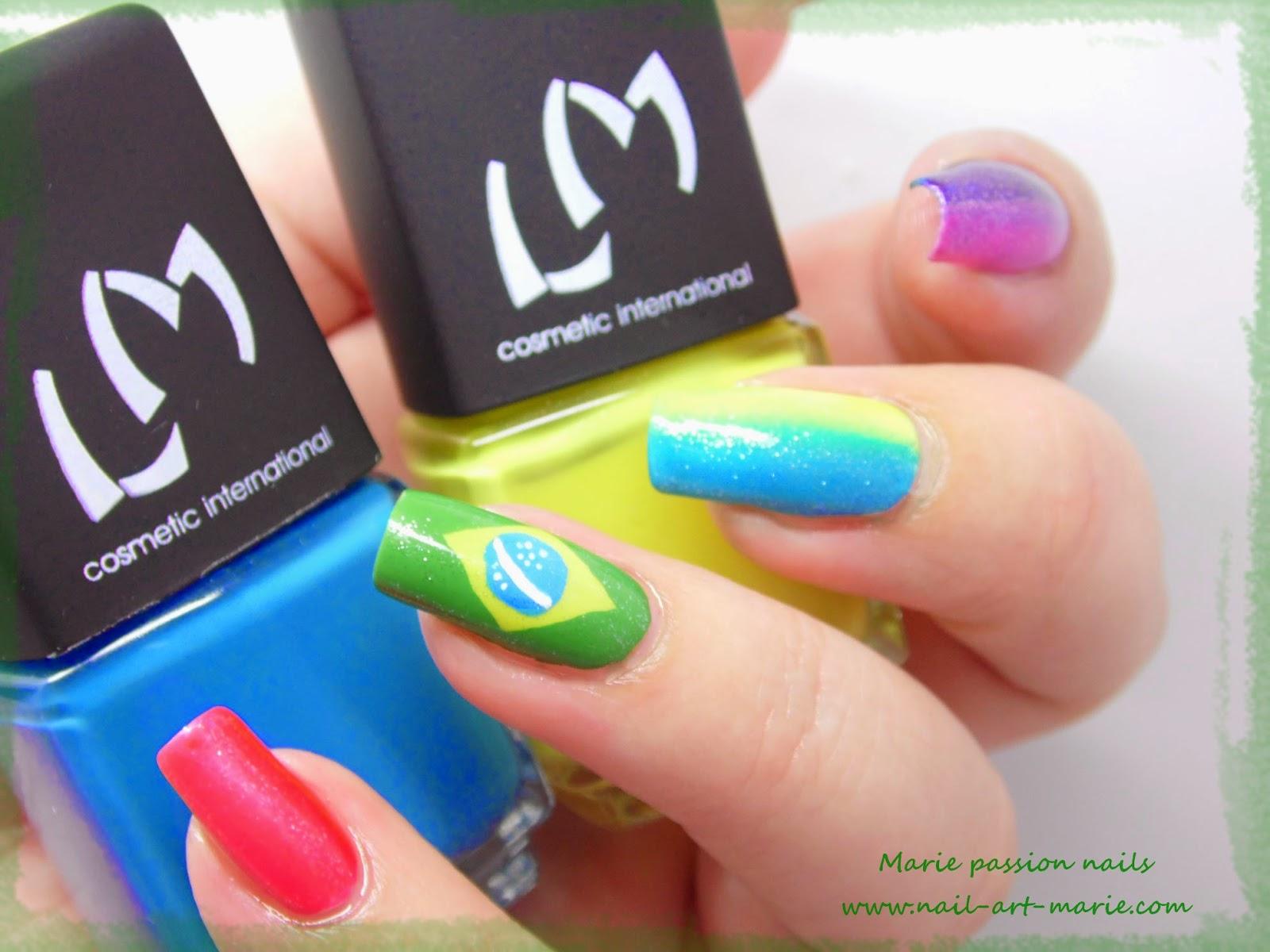 nail art Brésil2