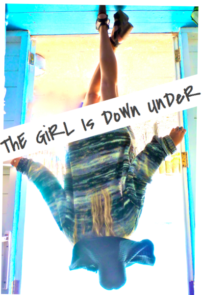 The Girl Is Down Under