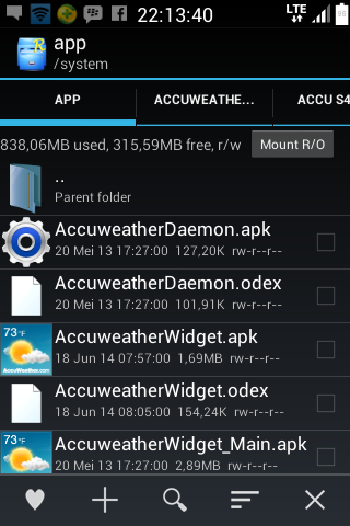 Cara mengganti Accu Weather Transparan 2