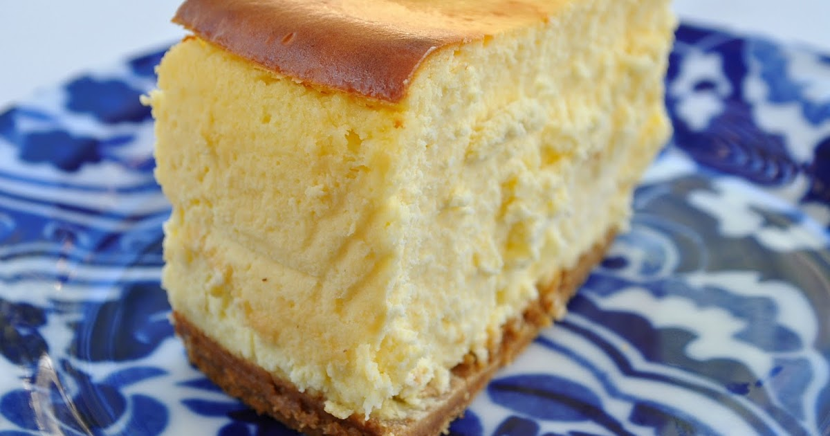 New York Cheese Cake W Flour In The Crust