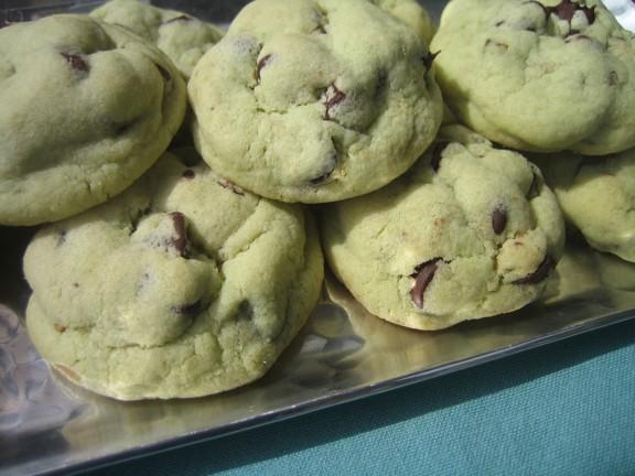 Chocolate-Pistachio Cookies Recipes — Dishmaps