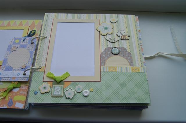 Детский фотоальбом для детского сада своими руками