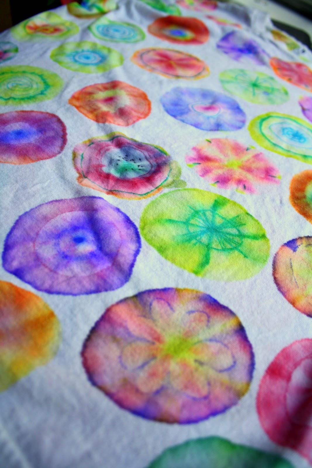 Having Fun At Home Sharpie Tie Dye Method 10 Tips
