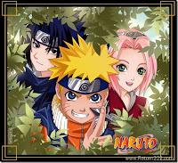 Sasuke , Naruto , Sakura , miembros del equipo 7