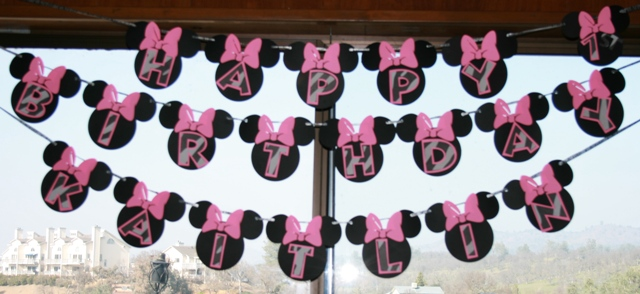 Bella Maison Tresors Minnie Mouse 1st Birthday Party