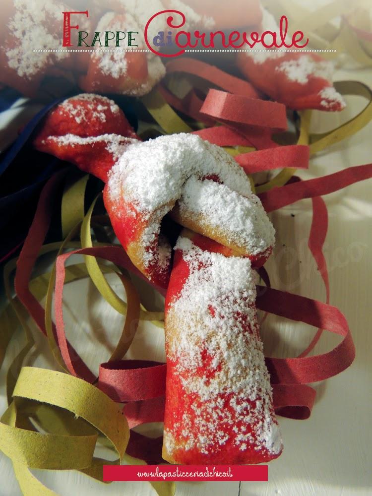 Frappe di Carnevale - www.lapasticceriadichico.it