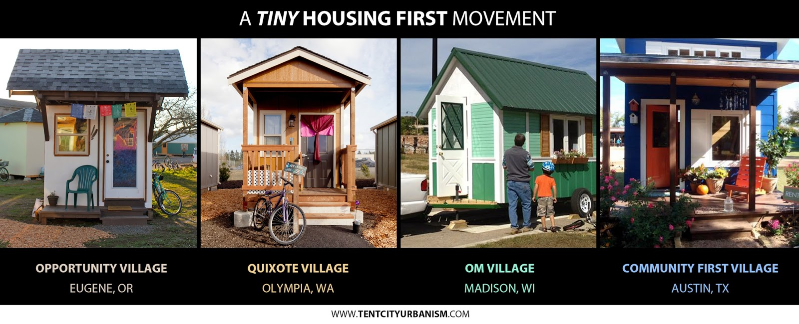 Tiny Housing First An American Success Story Tent City Urbanism