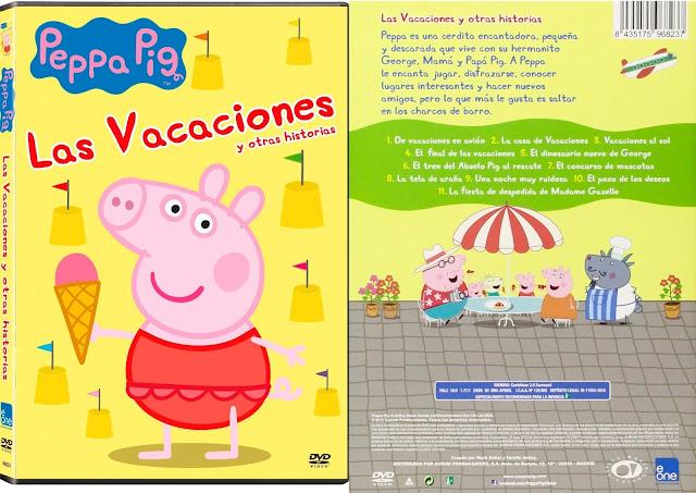 Las Vacaciones y otras historias de Peppa Pig