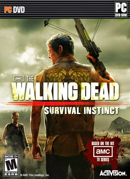 THE WALKING DEAD SURVIVAL INSTINCT,  ACTIVISION, PC GAME