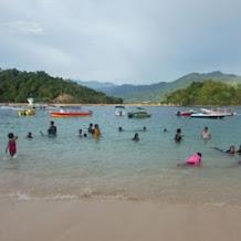 Pulau Setan Kawasan Wisata Mandeh Sumatera Barat