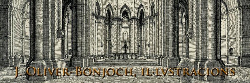 J. Oliver-Bonjoch, il·lustracions