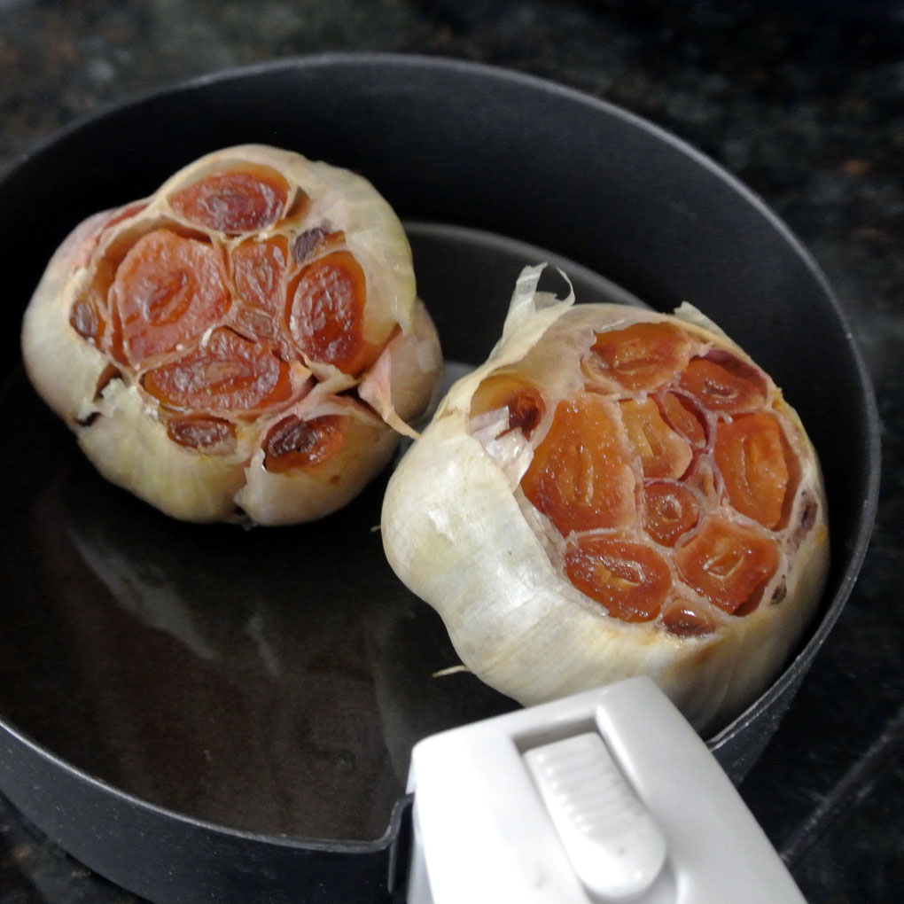 garlic roaster how to use