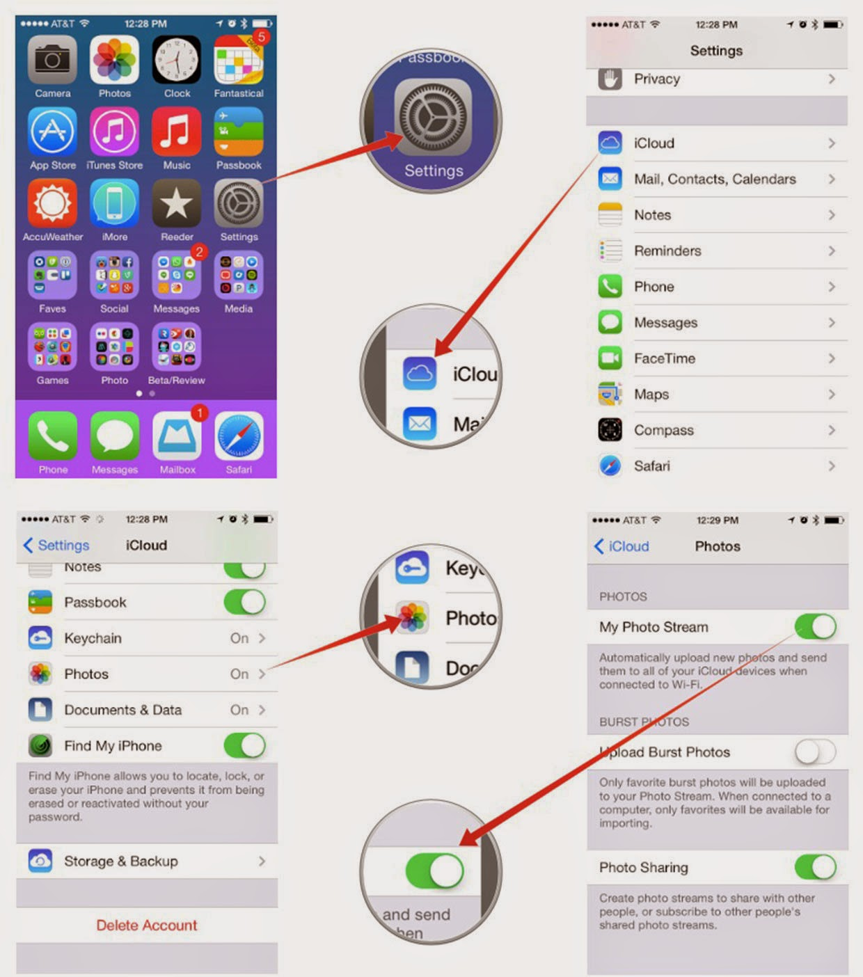 how to get iphoto on iphone